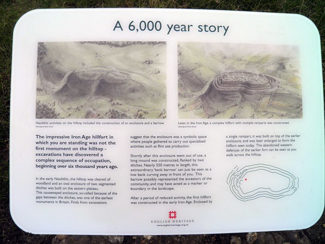 A 6,000 year story, Maiden Castle, Dorset