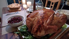 turkey(0.0), meal(1.0), dinner(1.0), roasting(1.0), thanksgiving dinner(1.0), meat(1.0), food(1.0), dish(1.0), thanksgiving(1.0), turducken(1.0),