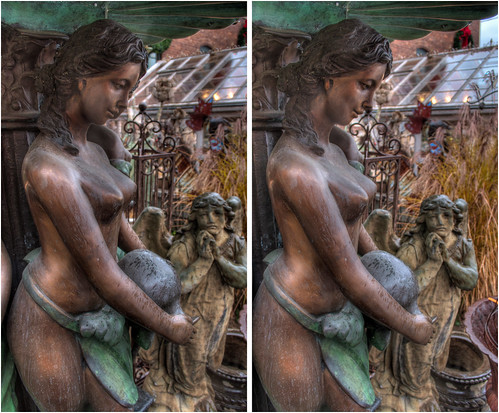 urban sculpture ny stereoscopic stereophotography 3d crosseye upstate saratogasprings upstateny handheld chacha hdr 3dimensional crossview crosseyedstereo 3dphotography saratogaspringsny 3dstereo