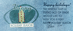 Studio Ace of Spade's holiday card - 2010