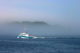 Lobster Boat on Casco Bay