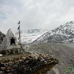 A Chorten by Tsomgo Lake - Sikkim