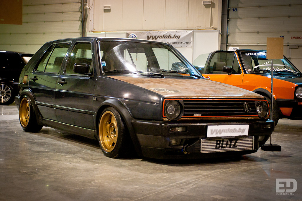 VW Golf Mk2 Rat