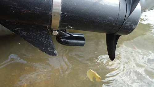 One Man Pontoon Boat My Transducer Pond Boats Float