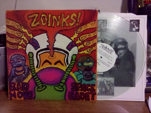 Zoinks! - Bad Move Space Cadet LP - Clear Vinyl /500