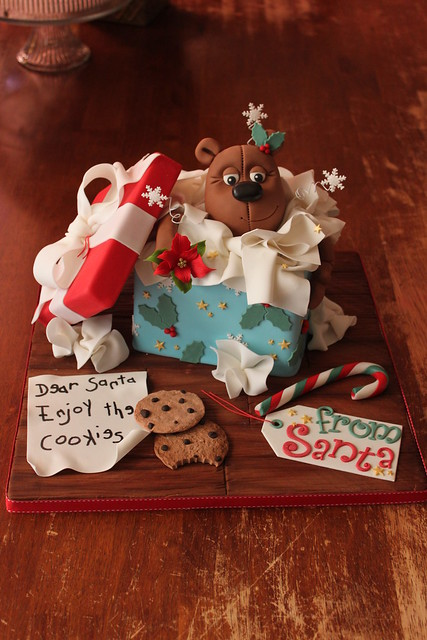 Opened Gift Box Cake
