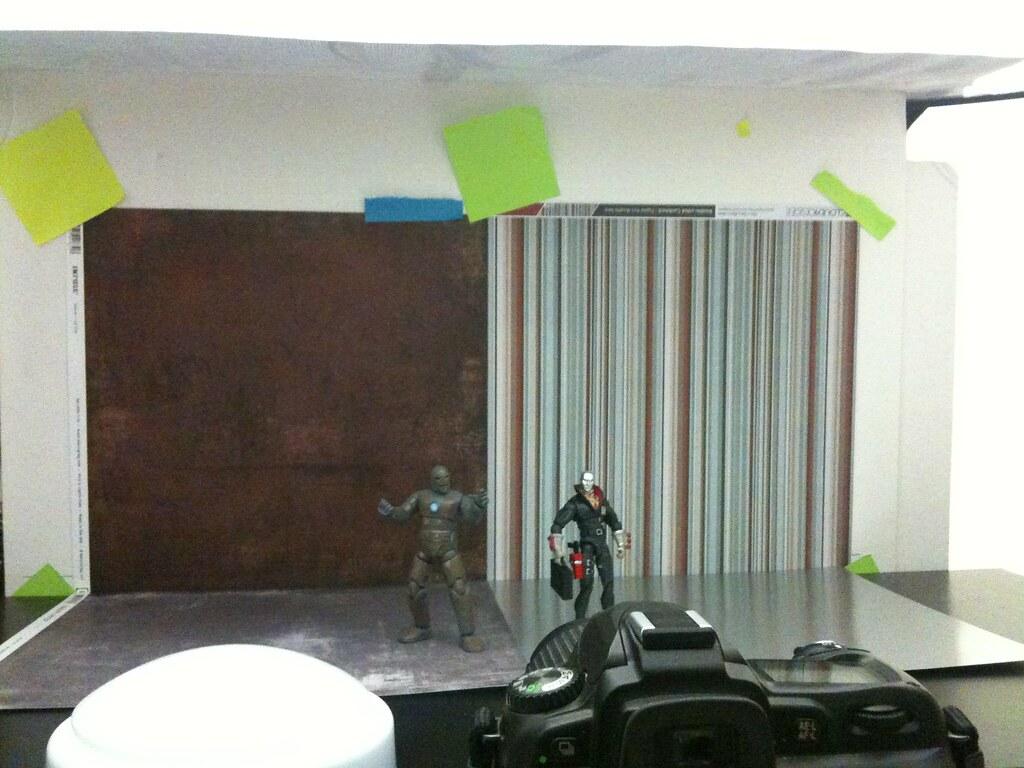 Iron Man vs. Destro Setup
