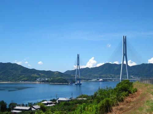 しまなみ海道 多々羅橋 Shimanami Kaidou Tatarahashi