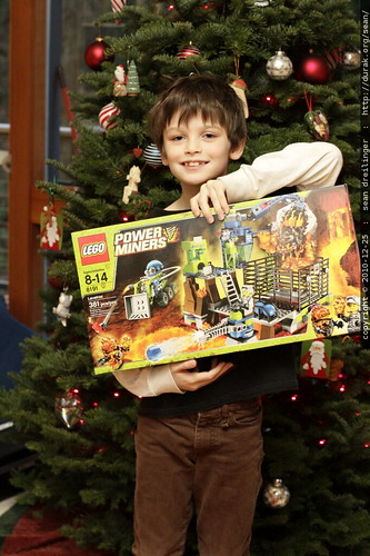 """nick receives """"Lavatraz"""" the final lego power miners kit   he collected them all"""