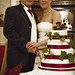 Emma and Adam Cut the Cake by Rob Landsman
