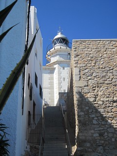 Attēls no Castillo del Papa Luna. lighthouses faros peñíscola