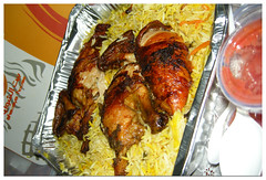 fried food(0.0), tandoori chicken(0.0), kebab(0.0), meal(1.0), chicken meat(1.0), meat(1.0), produce(1.0), food(1.0), dish(1.0), cuisine(1.0),