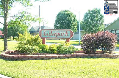 Lakepark Garden Homes Subdivision Entrance Sign Baton