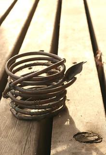 Art Product Photos - Copper Orchid Pot