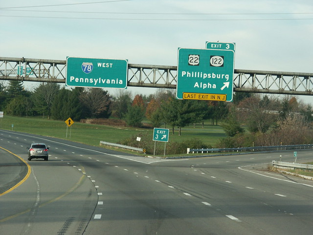 Last Exit In New York Leaving State Signs And Other Unusual Warning Signs