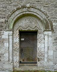 Mylor Church door