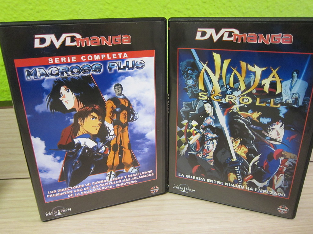 Macross Plus & Ninja Scroll