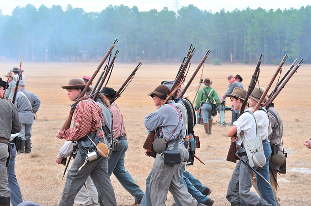 Brooksville Fl Civil War Reenactment
