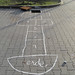 "Street art Berlin ""hopscotch"""