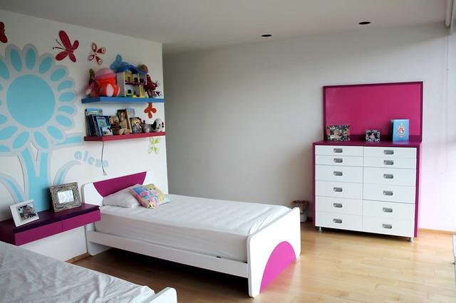 Camas individuales para ni as dise o de habitaciones - Disenos de cuartos ...