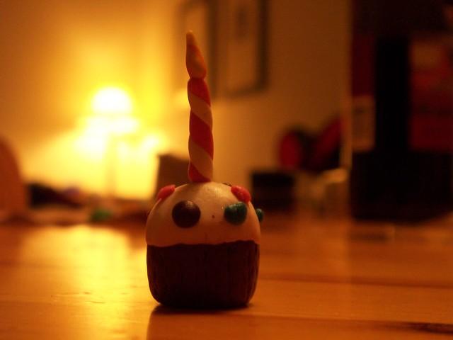 emily's birthday cupcake