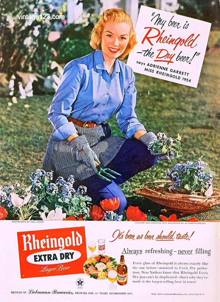 Rheingold-1954-gardening