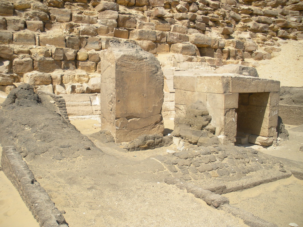 Stela at Bent Pyramid