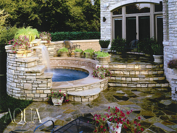 1000 images about in ground hot tubs on pinterest Hot tubs tulsa