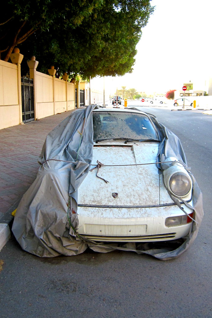 So In Dubai The Number Of Abandoned Luxury Cars Lying