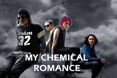 ***older photo, updated one in photostream*** My Chemical Romance Photoshop Edit: 'Just chillin' in the clouds''