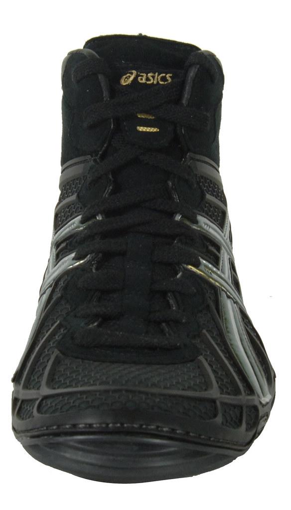 ef66121be47c6 ... Asics Dan Gable Ultimate 2 Wrestling shoe in Silver and Black 4