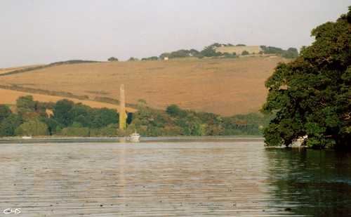 Trelonk brickworks, taken from the River Fal by Claire Stocker (Stocker Images)