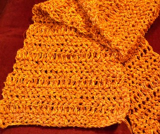 An Incredibly Quick Crochet Scarf
