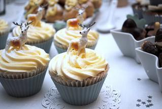 Cranberry & Almond cupcakes