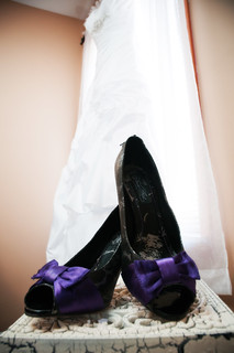 Bridal Shoes and Gown