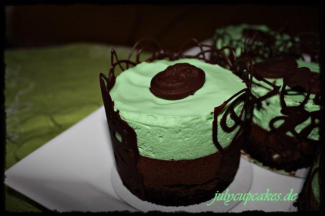 chocolate mint mousse mini cake | Flickr - Photo Sharing!