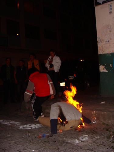 La quema de los viejos