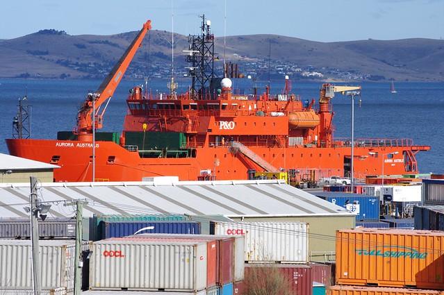 Aurora Australis - P&O Icebreaker used by Australia for Research in Antarctica