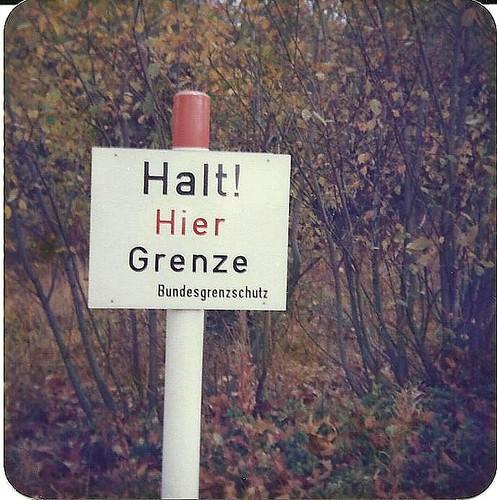 Halt. Or, British Schoolchildren invade the DDR!