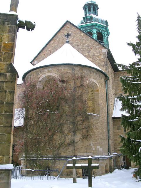 World Heritage: St. Mary´s Cathedral IV (1000-year-old rosebush)