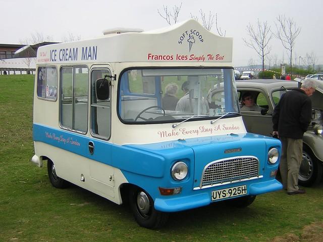 1969 Bedford Ca Morrison Electrofreeze Ice Cream Van