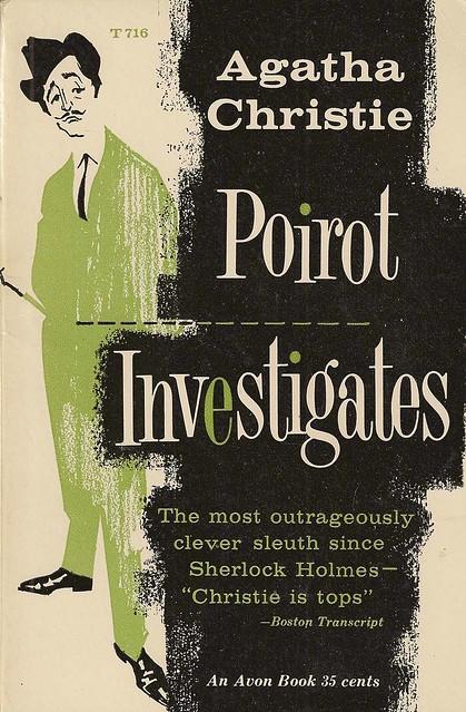 Poirot Investigates (Original Cover) — Agatha Christie