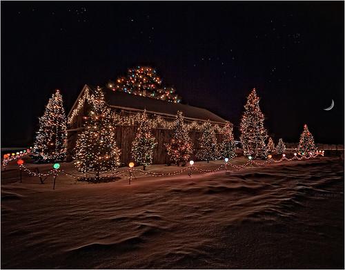 christmas wisconsin lights famous christmaslights waterst whiting stevenspoint bobomernick feltzlumber