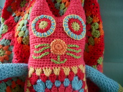 Kitty Cat by little woollie, face detail