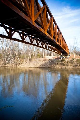 bridge memphis tennessee greenline shelbyfarms wolfriver wolfriverbridge