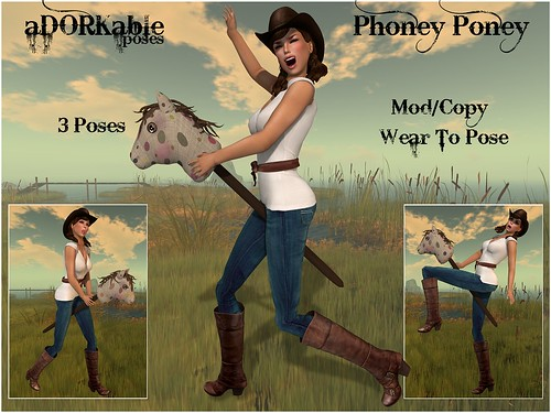 aDORKable Poses: Phoney Poney