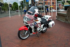 2004 BMW R1150RT ambulance motorcycle