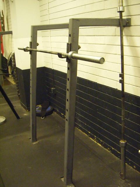 Diy squat racks definitely happeing at the new box for Diy squat stands