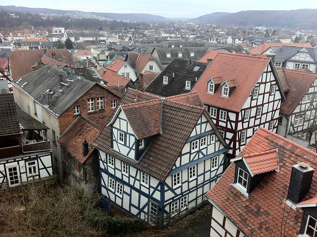 ドイツっぽい屋根