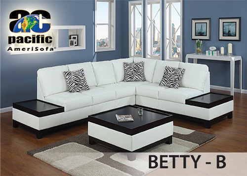 AC Betty-B Bonded Leather with ottoman $1299